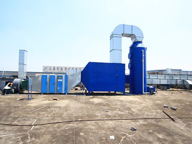 活性炭喷淋塔工程案例